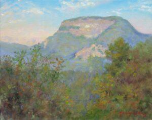 """Whiteside Mountain Morning"" 16x20 Oil"