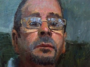 Joe Gyurszak - Self portrait - 12x12