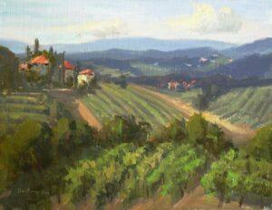 """""""Tuscan Terrain"""" by Bill Davidson OPA,"""