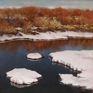 """Spring Thaw"" by Rita Roberts OPA"