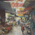 """Hong Kong Market"" by John Michael Carter"