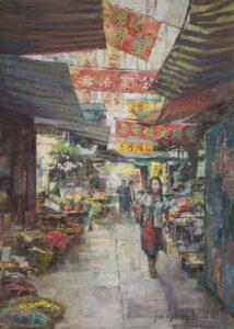 """""""Hong Kong Market"""" by John Michael Carter"""