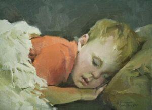 """""""Hush-a-Bye Baby"""" by Nancy Crookston"""