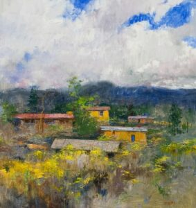 """Chamisa"" by Albert Handell OPAM"