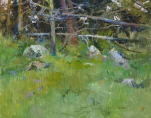 Woods Interior, Point Lobos by Albert Handell OPAM
