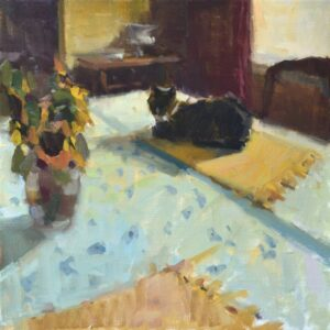 """Purrfect Spot"" by Anne Blair Brown"