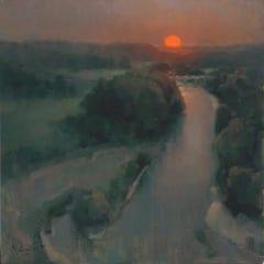 """""""Summner Sun Over the Illinois"""" by John P. Lasater, IV"""