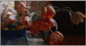 Detail of Tulip Tangent 18x24