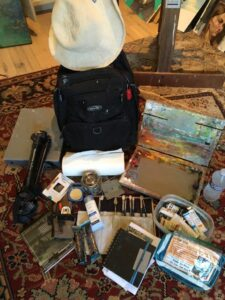Plein Air equipment