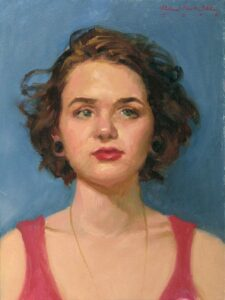 'Kristin' 16x12 Oil