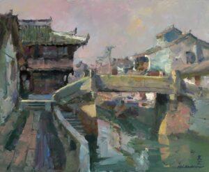 """""""Xin Chang Gu Zhen, Water village"""" by Kevin Macpherson"""