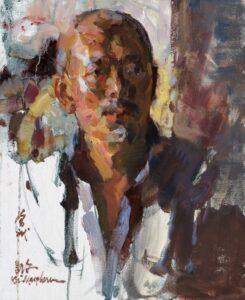 """""""Yi Shu Jia, The Artist, Zeng Bin"""" by Kevin Macpherson"""