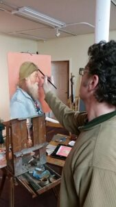 Rich Painting 'Ray'
