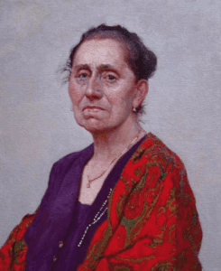 """Portrait of the Artist's Mother"" by Daud Akhriev"