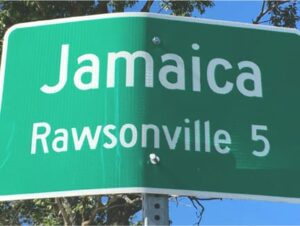 Town Sign from Jamaica Vermont