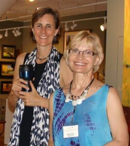 Jen Kochevar and Mary Pettis