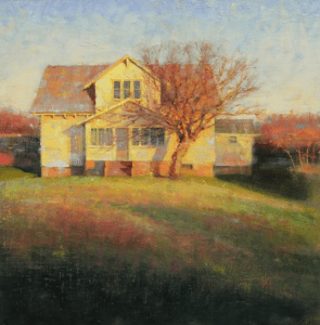 Homefront - 20 x 20 - Oil (Featured on cover of Southwest Art magazine, June 2012)