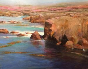 "24"" x 30"" - Point Lobos Calm No. 2"