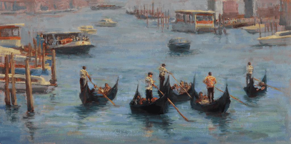 """Afternoon on the Grand Canal"" by Karen Leoni"