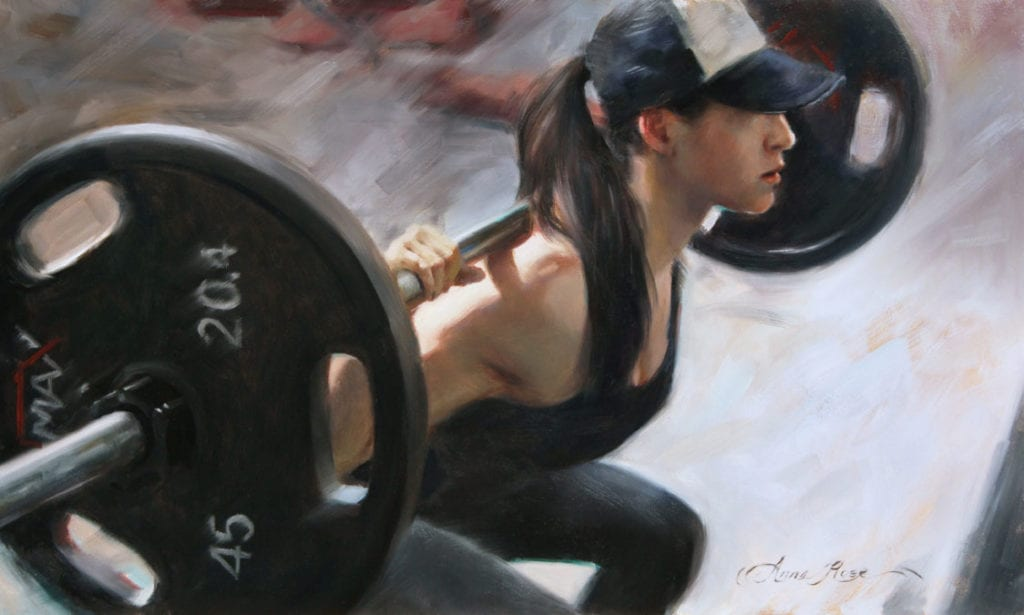 """One More Rep"" by Anna Rose Bain"