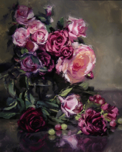Roses and Grapes by Kurt Anderson