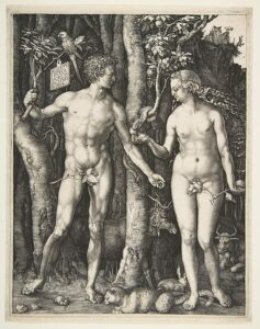 Adam and Eve 1504 Albrecht Dürer German, Nuremberg 1471–1528 Nuremberg