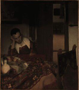 Johannes Vermeer 1656 A Maid Asleep
