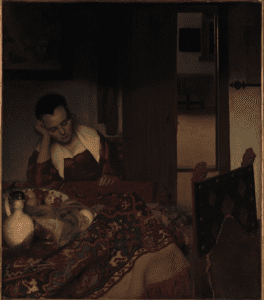 Johannes Vermeer 1656 A Maid Asleep