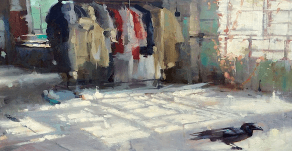 Becoming A Better Realist Painter Through Abstraction