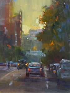 Rick Delanty - Sundown - 12x9