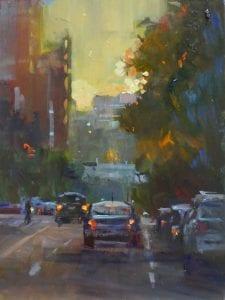 Rick Delanty - Sundown - 12x9