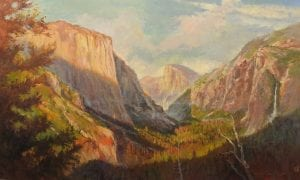 Rick Delanty - Yosemite Valley - 36x60
